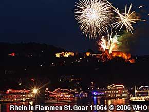 Rhein in Flammen St. Goar / St. Goarshausen